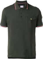 Moncler Gamme Bleu pocket polo shirt - men - Cotton - S