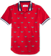 Reason Men's Snakes & Roses Cotton Polo
