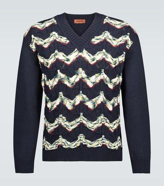 Missoni Knitted V-neck sweater