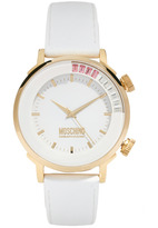 Moschino Ladies Watch with Leather Strap