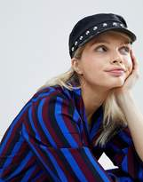 Monki Baker Boy Cap