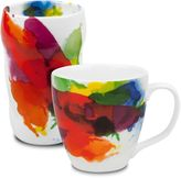 Konitz On Color Double-Walled Grip Mugs (Set of 2)