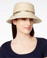 Scala Metallic Accent Bucket Hat