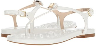 Cole Haan Tali Mini Bow Sandal (Black Patent) Women's Sandals