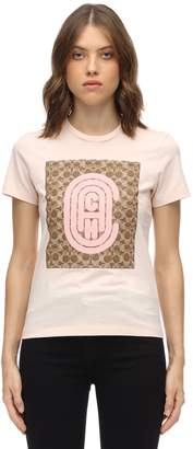 Coach Fitted Retro C Cotton Jersey T-shirt