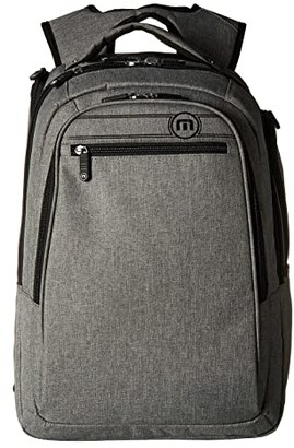 Travis Mathew The Go Backpack (Heather Grey) Backpack Bags