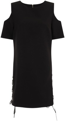 Girls On Film Black Shift Dress