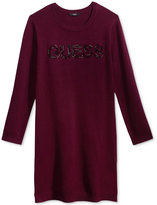 GUESS Logo Sweater Dress, Big Girls (7-16)