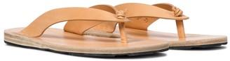 Jil Sander Leather thong sandals
