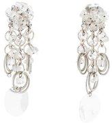 Paco Rabanne Rock Crystal Paillette Earrings