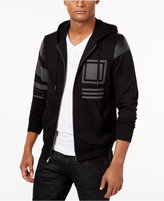 INC International Concepts Men's Mixed-Media Hoodie, Only from Macy's