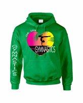 Allntrends Adult Hoodie Sweatshirt Gymnastics Art Pink Print Love Live (S, )
