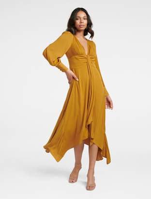 Ever New Genevieve Ochre Maxi Dress