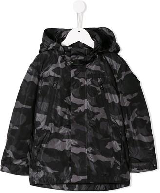 Moncler Enfant Padded Camo Jacket
