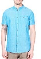 Point Zero Striped Linen-Blend Shirt