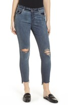 KUT from the Kloth STS Blue Emma Ripped Step Hem Jeggings