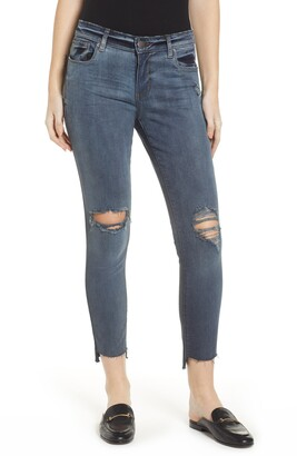 STS Blue Emma Cut Off Hem Crop Skinny Jeans