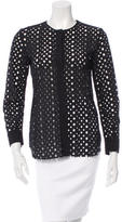 Isabel Marant Long Sleeve Perforated Top