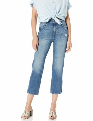 DL1961 Women's Jerry High Rise Vintage Straight Fit Jeans