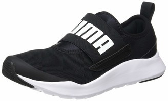 Puma Unisex Adult's Wired Slipon Sneaker Black White 10.5 UK