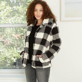 Knox Rose™ Women's Long Sleeve Check Jacket - Knox RoseTM