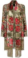 Anna Sui floral embroidered jacket