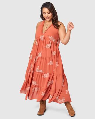 The Poetic Gypsy Savannah Drifter Maxi Dress