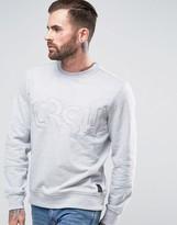 Crosshatch Logo Sweatshirt