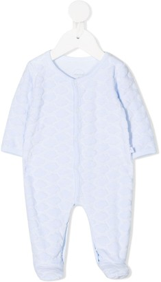 Absorba Cloud Embroidered Babygrow