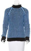 CNC Costume National Mock Neck Wool Sweater