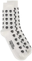 Alexander McQueen skull socks - men - Cotton/Polyamide/Spandex/Elastane - One Size