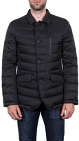 Tahari Quilted Down Blazer Jacket