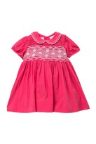Carriage Boutique Strawberry Lace Smocking Dress (Baby Girls)