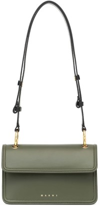 Marni New Beat Small leather shoulder bag