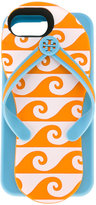 Tory Burch flip flop iPhone 6/7 case - women - Acrylic - One Size