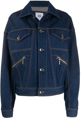 Opening Ceremony Logo Print Denim Jacket