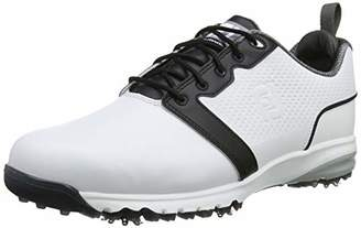 Foot Joy Footjoy Men's Contour Fit Golf Shoes, White (Blanco 54161)