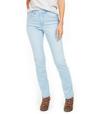 Style&Co. Style & Co Tummy-Control Straight-Leg Denim Jeans, Created for Macy's