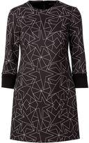 Neil Barrett star print shift dress