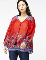 Monsoon Victoria Paisley Print Top