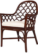 David Francis Furniture Koi Armchair - Coffee Brown