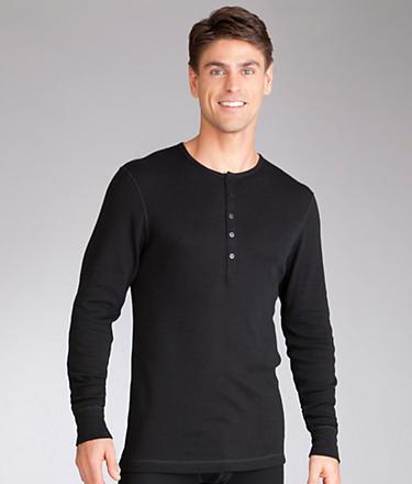 2xist Essential Long Sleeve Henley T-shirt