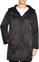 Eileen Fisher Petites Hooded Boxy Coat