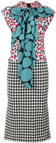 Marni layered patterned dress