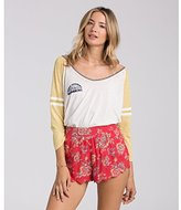 Billabong Junior's Morning Sunshine Color Block Raglan