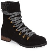 Sole Society Women's Faux Shearling Trim Ada Boot