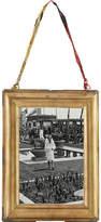 "Nkuku Kariba antique brass portrait frame 4"" x 6"""