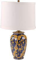 Avala Guila Table Lamp, Blue/Gold