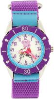 Peppa Pig Purple Hour & Minute Watch