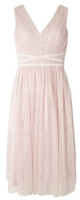 Dorothy Perkins Womens Showcase Blush 'Jasmine' Prom Dress